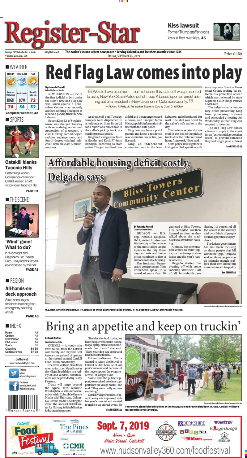 Design Bank 2 Zits Lugo.Eedition Register Star September 6 2019 By Columbia Greene Media
