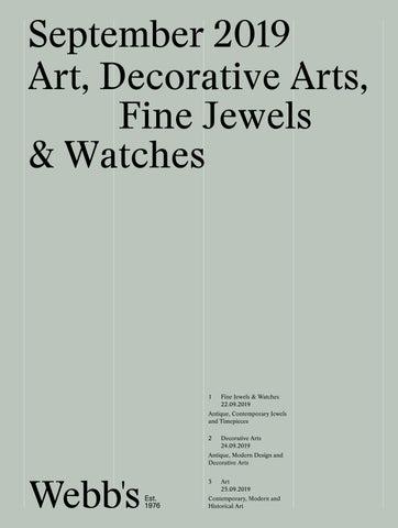 Fine Webbs Combined Catalogue September 2019 By Webbs Auction Creativecarmelina Interior Chair Design Creativecarmelinacom