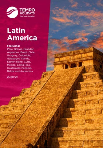 Tempo Holidays 2020 Latin America Brochure By Cox And