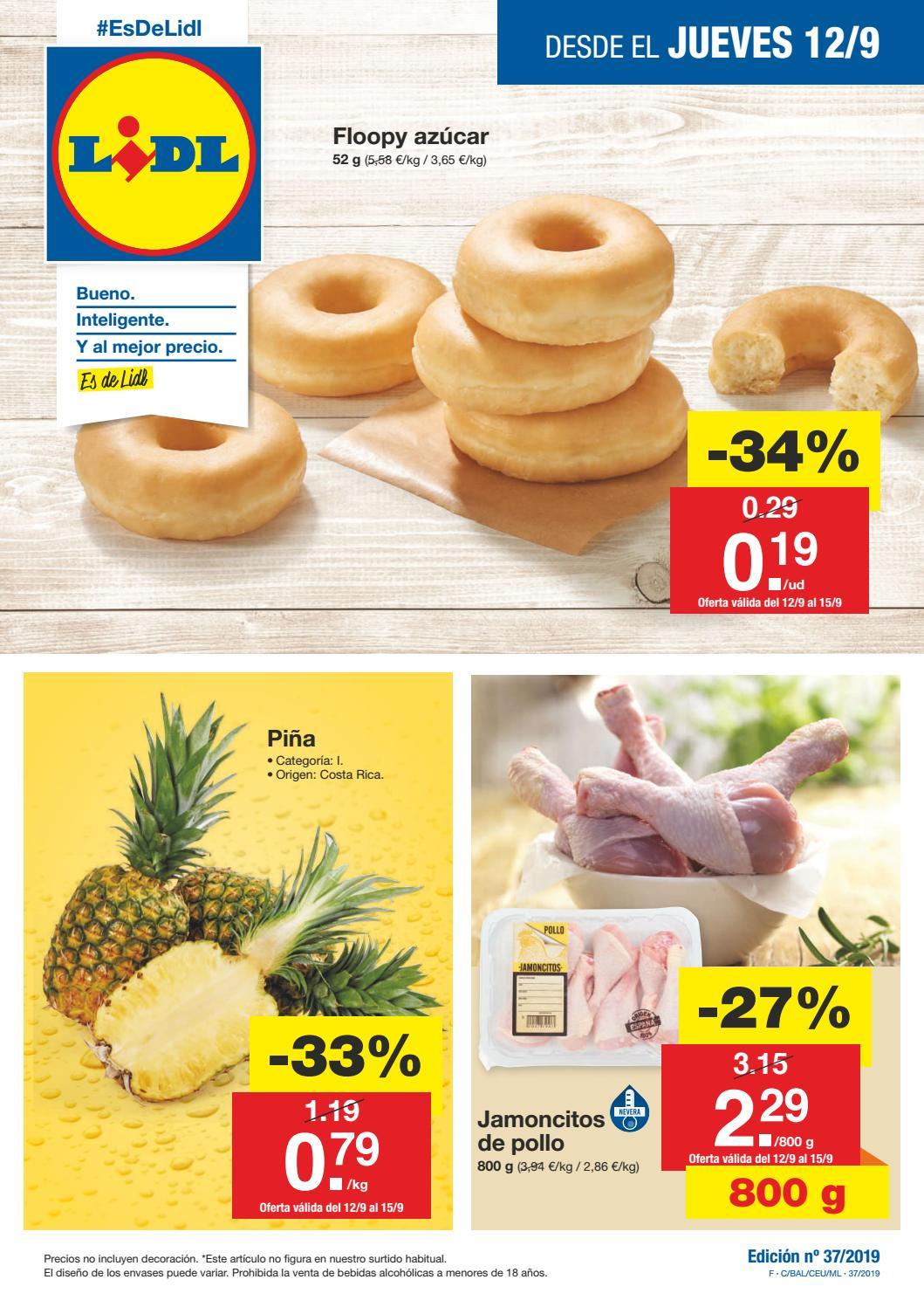 Catálogo Lidl 12 Septiembre By Ofertas Supermercados Issuu