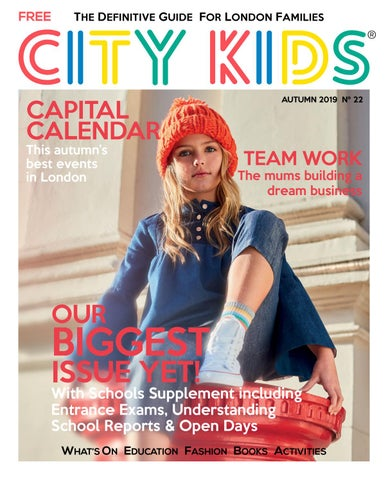 Page 1 of City Kids Autumn Issue Cover