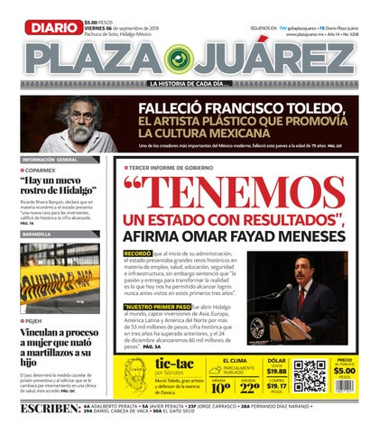 06 09 19 by Diario Plaza Juárez issuu