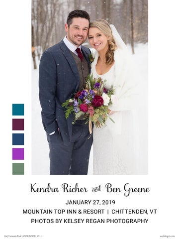 Page 204 of REAL WEDDINGS: Kendra & Ben