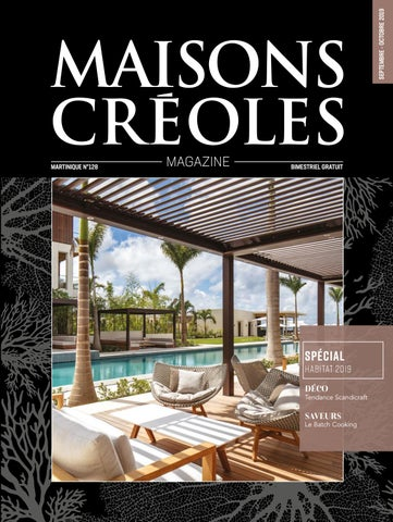 Magazine Maisons Creoles N 128 Martinique By Magazine