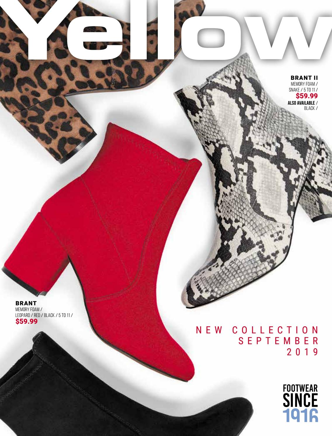 Yellow Shoes - September 2019 Catalogue