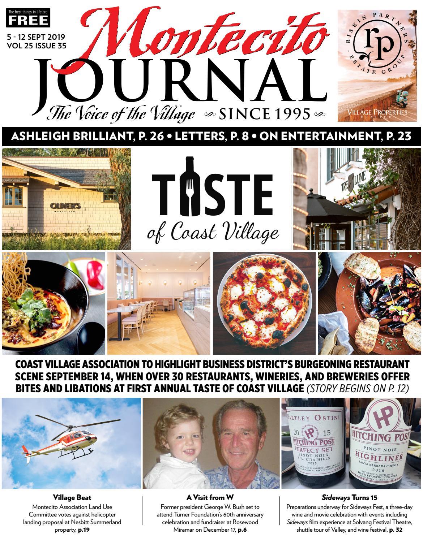 Taste of Coast Village by Montecito Journal - issuu