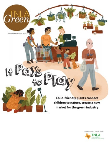 Page 1 of Child Friendly Plants in TNLA Green Magazine