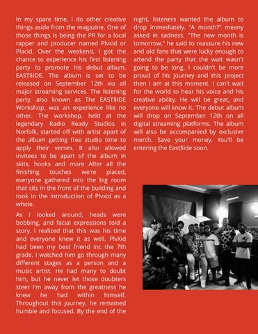 Page 23 of Event Review: The East$ide Workshop