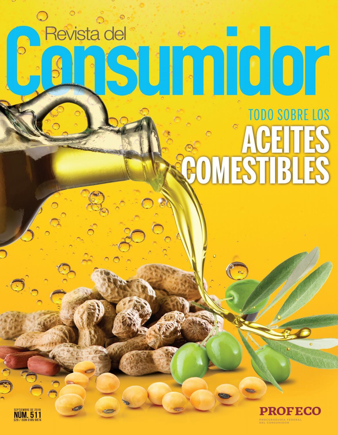Componentes nutricionales aceite de girasol