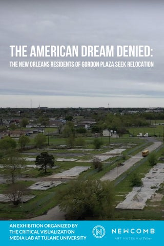 The American Dream Denied: The New Orleans Residents of