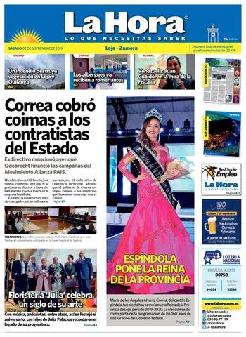 Diario La Hora Loja 07 de septiembre 2019 by Diario La Hora