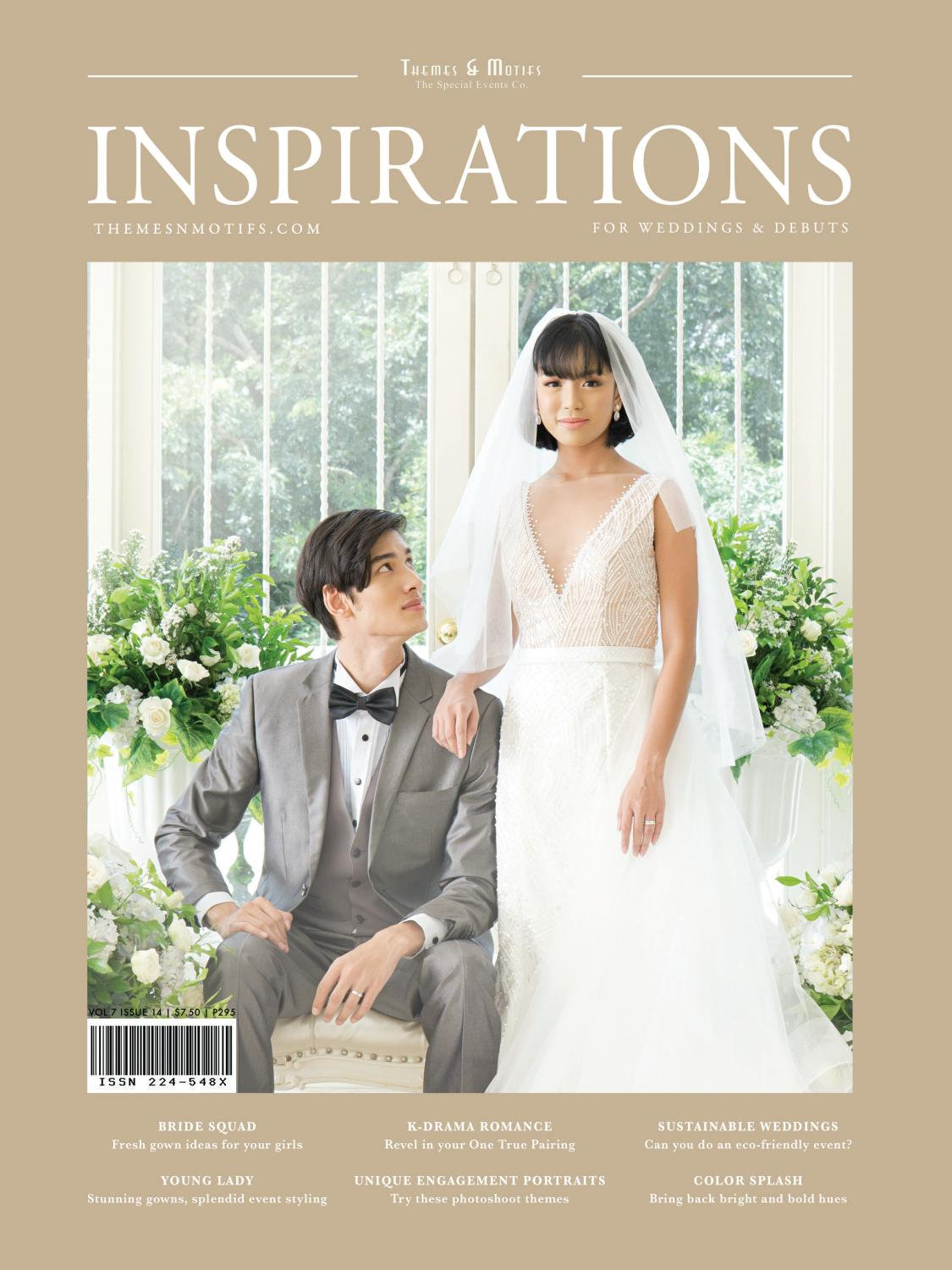 Inspirations For Weddings Debuts Magazine 14th Issue By