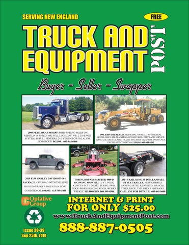Truck And Equipment Post - Issue 38-39, 2019 by 1ClickAway