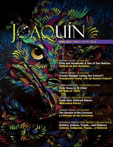Joaquin April 2019 By Roberto Radrigán Issuu