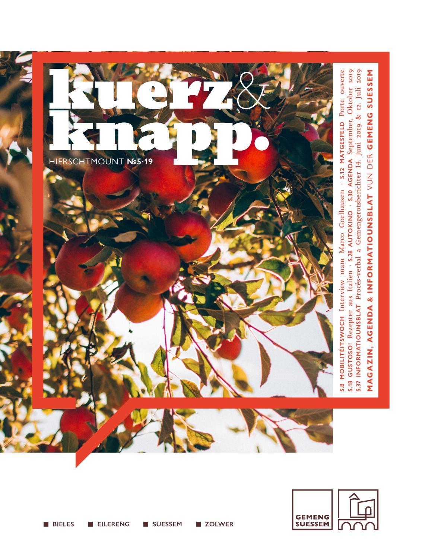 Kuerz Knapp Hierschtmount N 5 19 By Gemeng Suessem Issuu