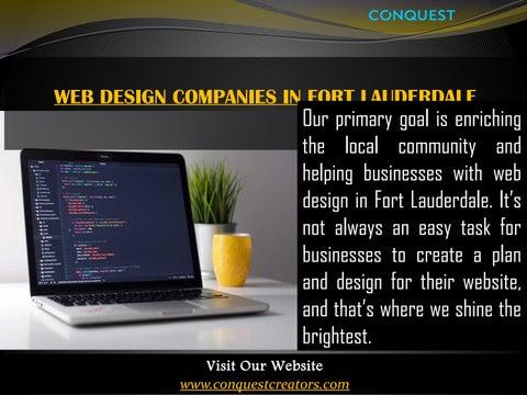 Web Design Fort Lauderdale Fl By Fort Lauderda Issuu