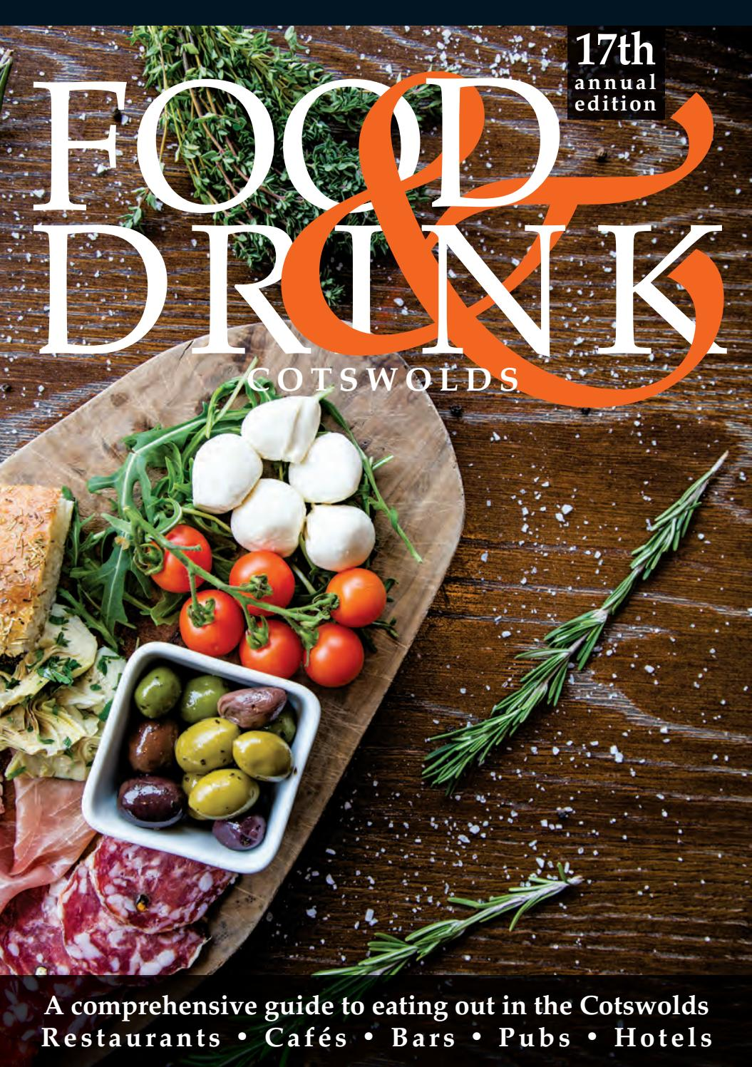 Cotswolds Food Drink Guide 2019 By Food Drink Guides Issuu