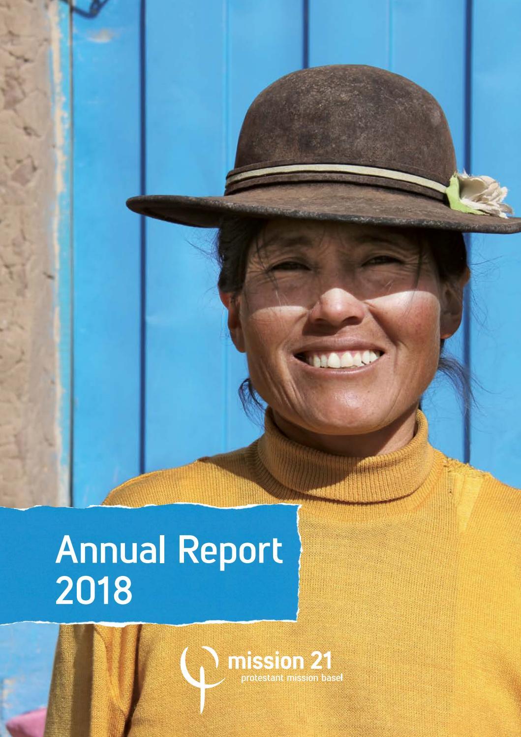 Andrea Suwa annual report 2018mission 21 - issuu