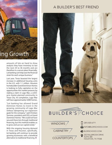 Page 17 of Residential Lot Banking: Alternative Financing to Fuel Homebuilding Growth