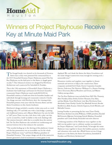 Page 36 of Winners of Project Playhouse Receive Keys at Minute Maid Park