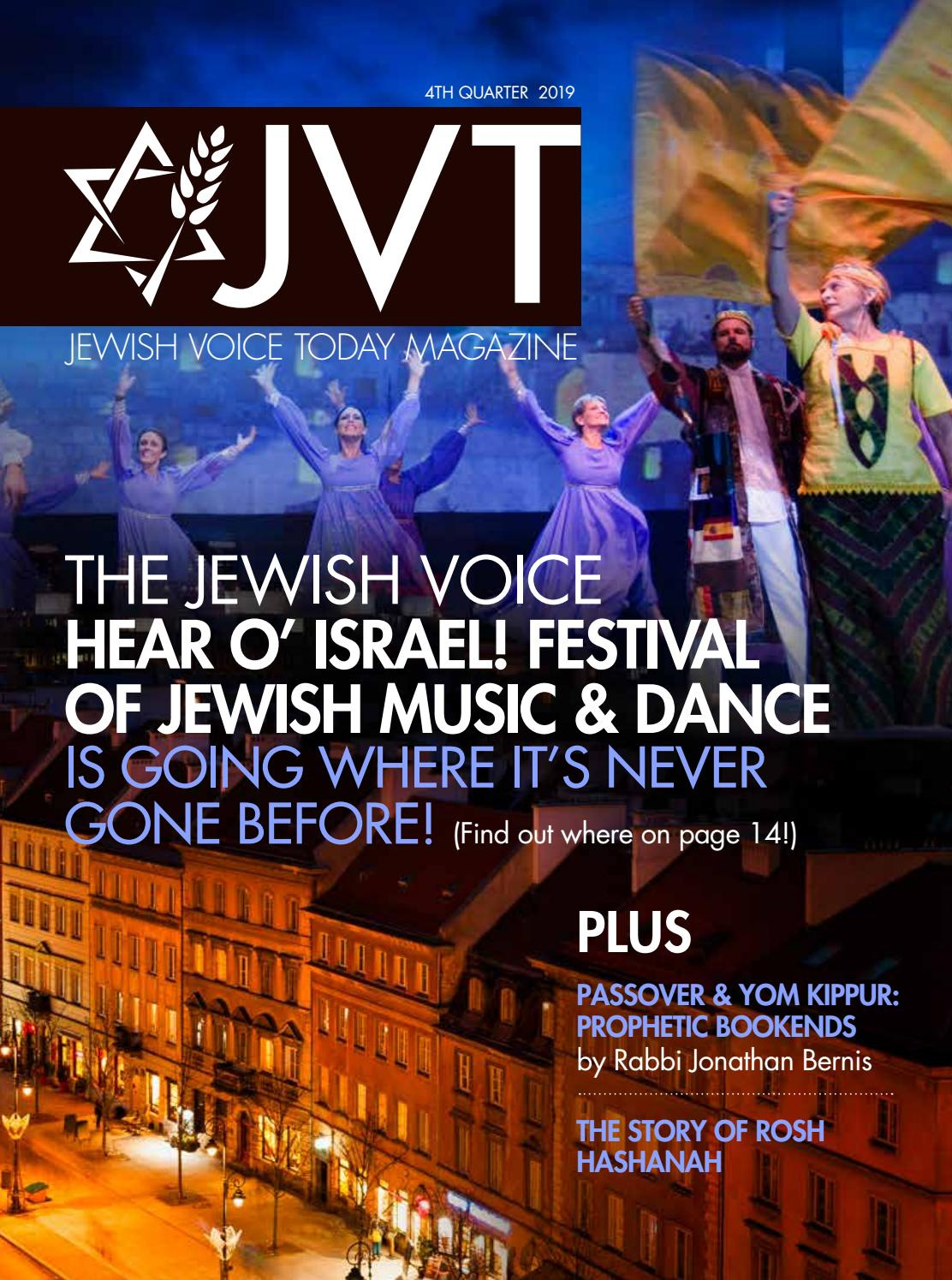 2019 Q4 Jewish Voice Today Magazine By Jewish Voice Ministries International Issuu