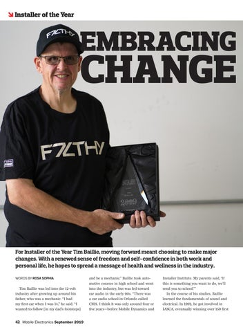Page 42 of Installer of the Year: Embracing Change