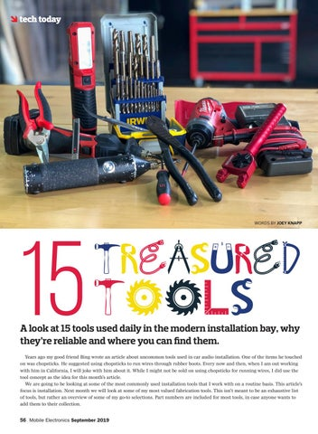 Page 56 of Tech Today: 15 Treasured Tools