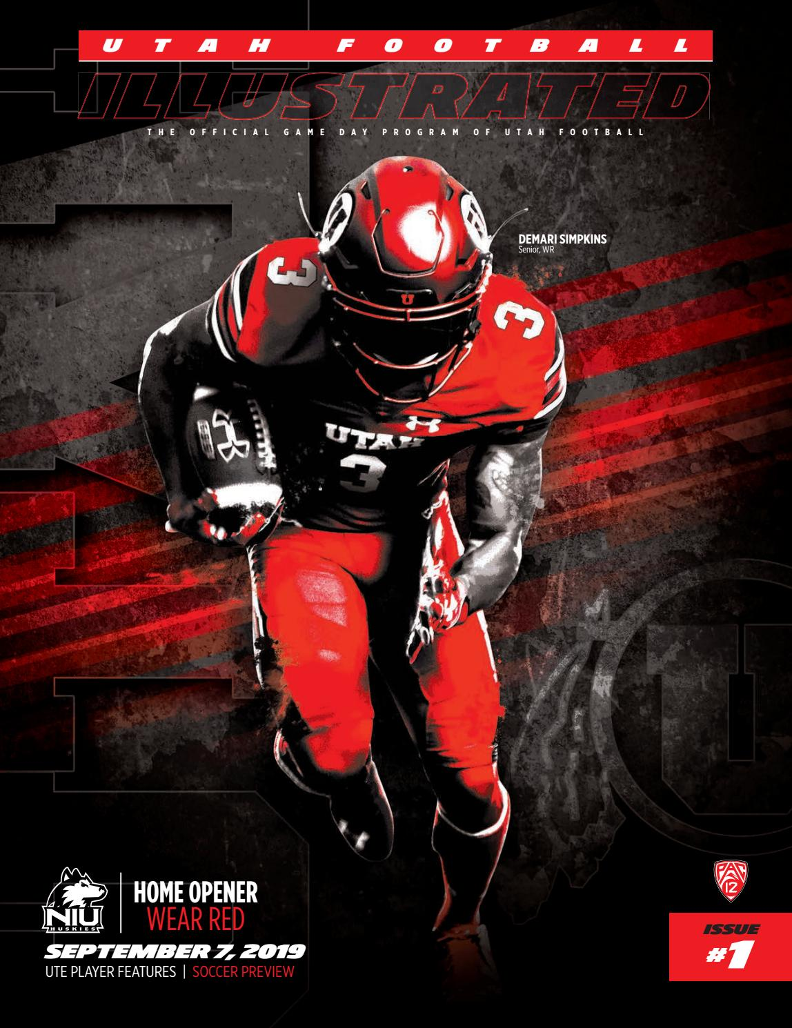 great look huge selection of various colors Utah Football vs. Northern Illinois by Mills Publishing ...