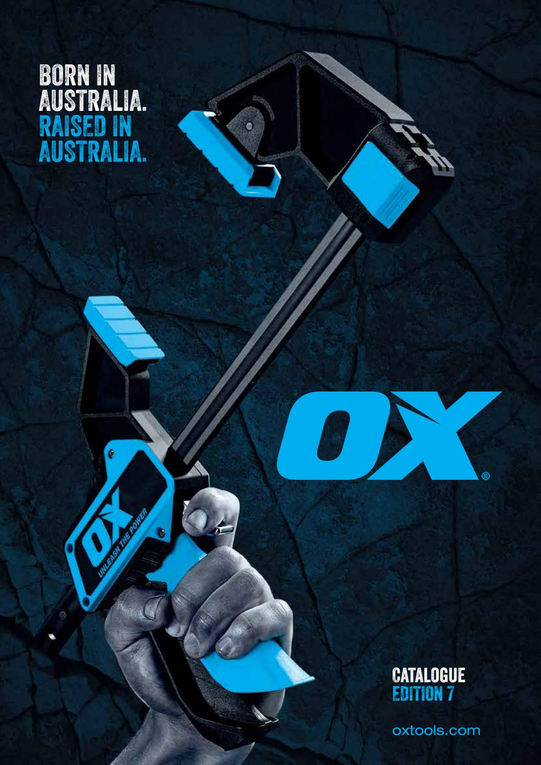 7-Inch//180 mm Multi-colour OX Tools OX-P011407 Hand Tool