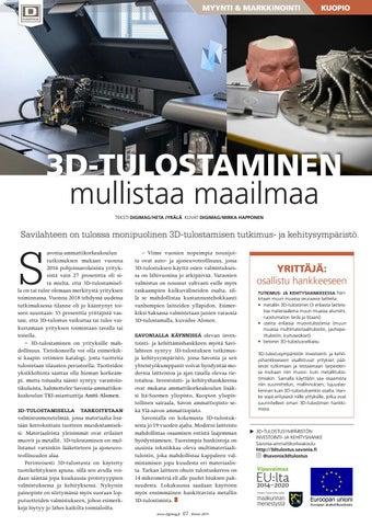 Page 67 of 3D-tulostaminen mullistaa maailmaa