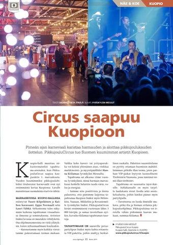 Page 93 of Circus saapuu Kuopioon