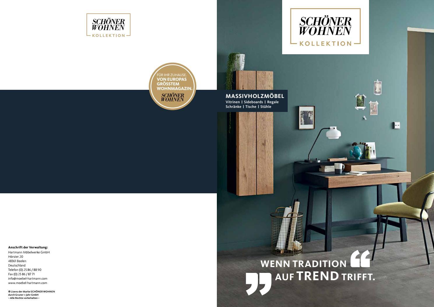 Massivholzmobel Schoner Wohnen Kollektion 2019 By Perspektive Werbeagentur Issuu
