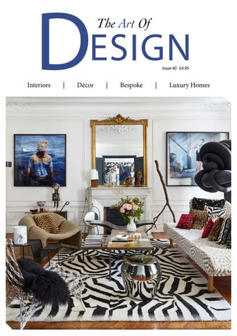 The Art Of Design Issue 40 2019 By Mh Media Global Issuu