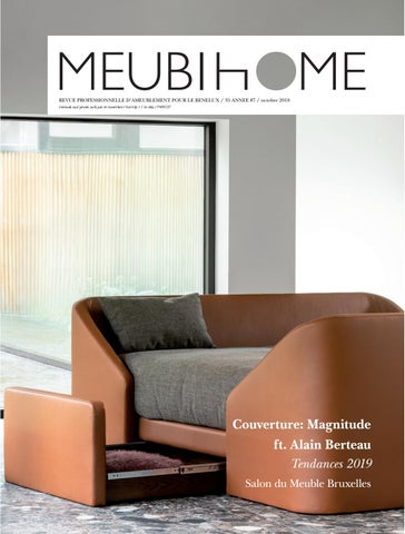 Meubihome Fr Salon Du Meuble De Bruxelles Octobre 2018 By Clo Coussens Issuu