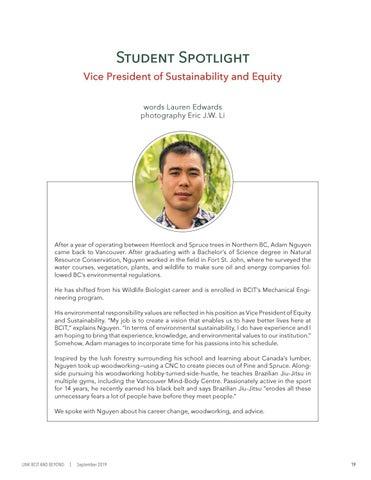 Page 23 of Student Spotlight: Adam Nguyen