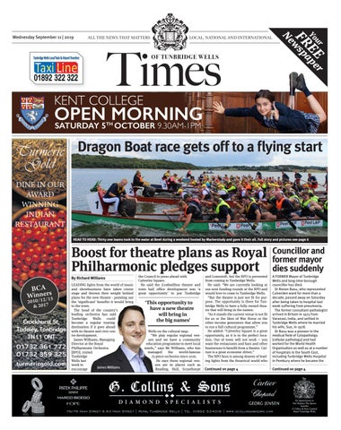 Times Of Tunbridge Wells 11th September 2019 By One Media