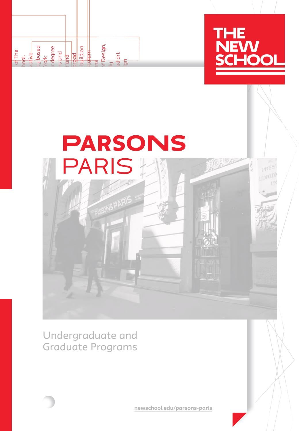 2019 Parsons Paris Viewbook By The New School Issuu