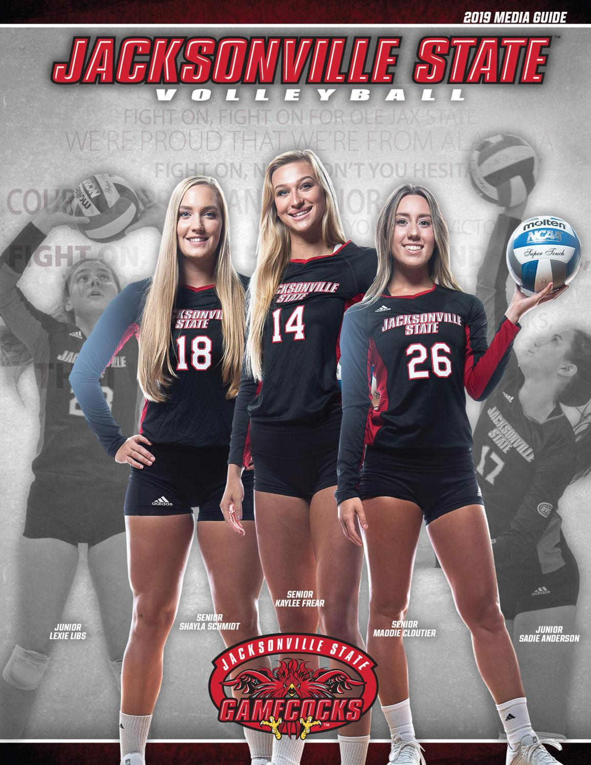 foto de 2019 Jacksonville State Volleyball Media Guide by Jacksonville ...