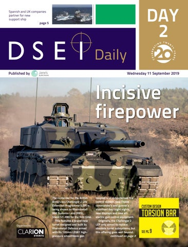 Dsei 2019 Show Daily 2 By Janes Issuu