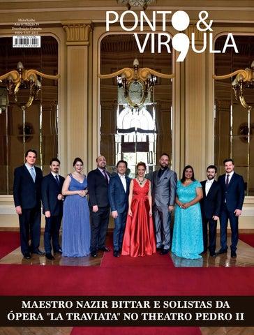 """Cover of """"Revista Ponto & Vírgula - Ano 6 - Edição 39 - Maio/Junho 2018"""""""