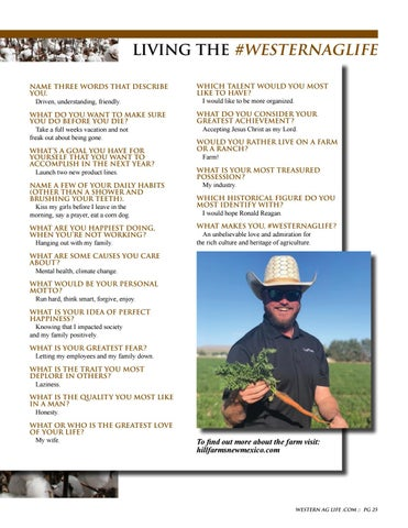 Page 25 of Living the Western Ag Life