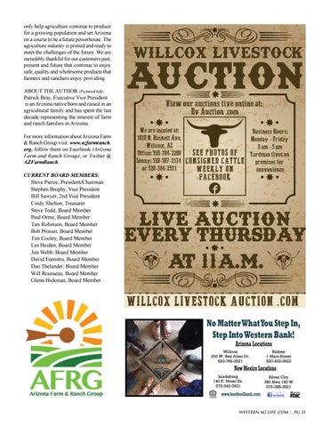 Page 35 of Arizona Farm & Ranch Group