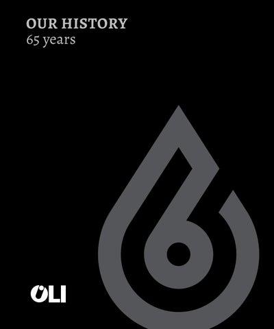 Our History 65 Years By Oli Sistemas Sanitários Sa Issuu