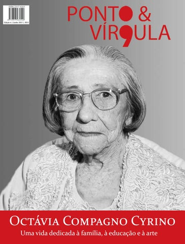 """Cover of """"Revista Ponto & Vírgula - Ano 1 - Edição 06 - Junho 2013"""""""