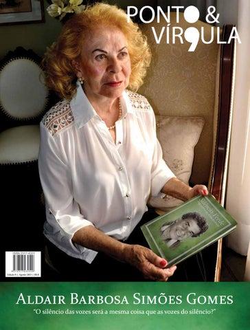 """Cover of """"Revista Ponto & Vírgula - Ano 1 - Edição 08 - Agosto 2013"""""""