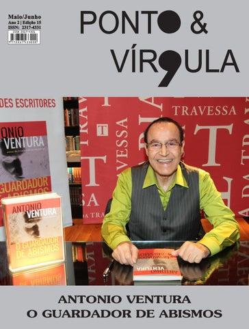 """Cover of """"Revista Ponto & Vírgula - Ano 2 - Edição 15 - Maio/Junho 2015"""""""