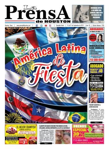 La Prensa De Houston Edición 918 By La Prensa De Houston Issuu