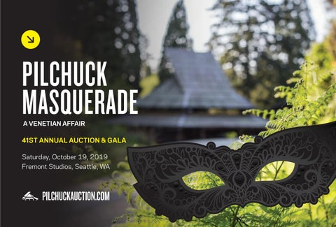 Page 1 of Pilchuck Masquerade: 41st Annual Auction & Gala