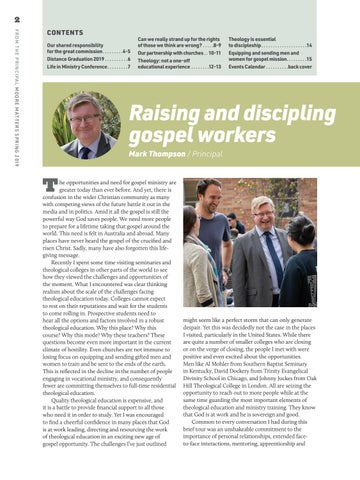 Page 2 of Raising and discipling gospel workers