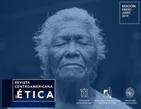 Revista Centroamericana De ética 3ra Edición Enero Junio